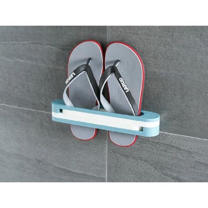 Support mural pour chaussures et pantoufles, gain de place, étagère de salle de bains