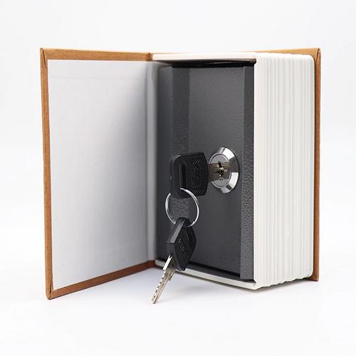 Coffre-fort en forme de dictionnaire | Serrure à clés de sécurité discrète, pour argent, coffre-fort, rangement de pièces de monnaie, de bijoux