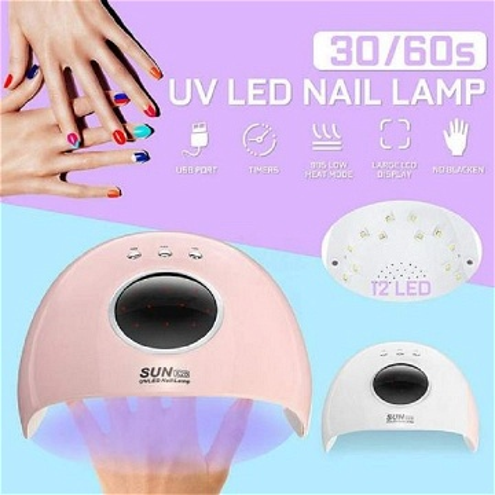 Machine durcissement de lampe à gel UV LED sèche-ongles Outil de manucure pour sèche-linge vernis
