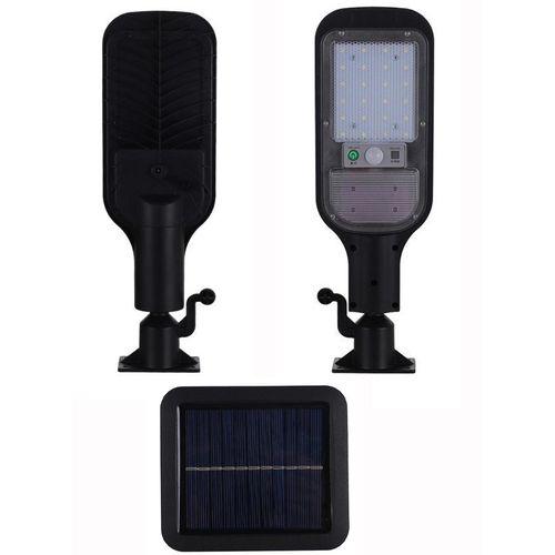 Lumière solaire détachable de porte de jardin de mur de capteur de réverbère solaire extérieur de 120W