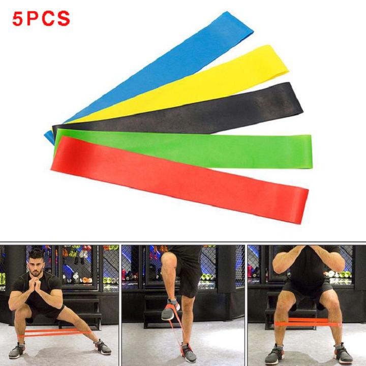 Resistance Bands Exercise Sports 5PCS