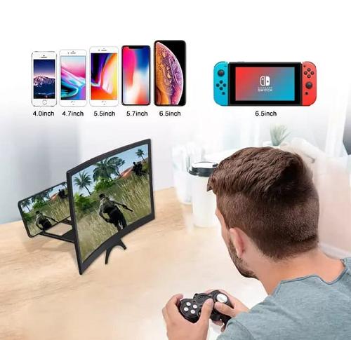 Loupe D'écran Amplificateur Vidéo de Téléphone Portable Intelligent 3D écran CURVE
