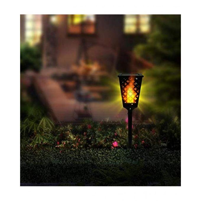 Solar Tiki Torch Lights LED