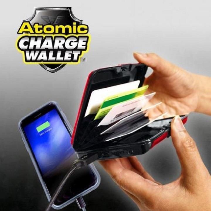 E-charge wallet Chargeur Atomic portatif multifonctionnel