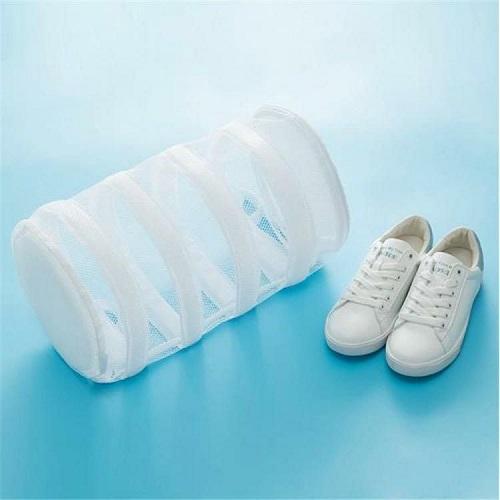 Sac de lavage pour espadrille de protection pour machine à laver