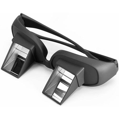 Lunette prisme périscope vision horizontale au lit lecture s'allonger titulaire paresseux