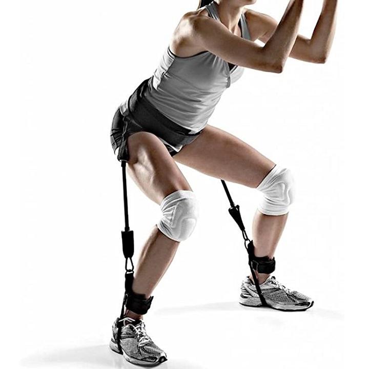Vertical Jump Trainer Leg Strength pour sport Jumping, Basket-ball, Foot-ball, Volley-ball, Tennis