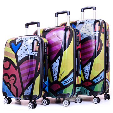 Set 3 Valises POLYCARBONATE 4R Coque solide FR