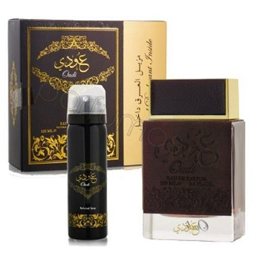 Parfum Oudi 100Ml eau de Parfum Avec Un Déodorant cadeau