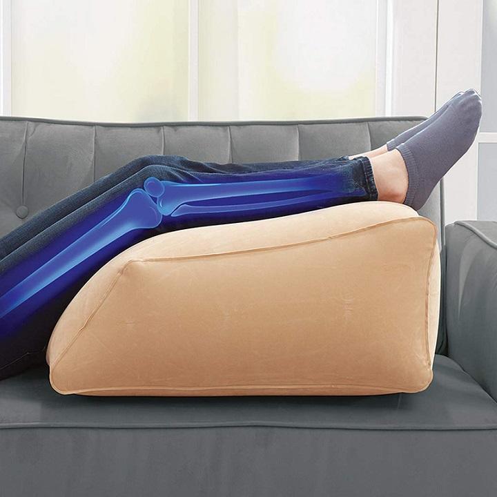 Leg ramp for back pain Gonflable soulage les douleurs aux jambes, aux hanches et aux genoux, améliore la circulation sanguine