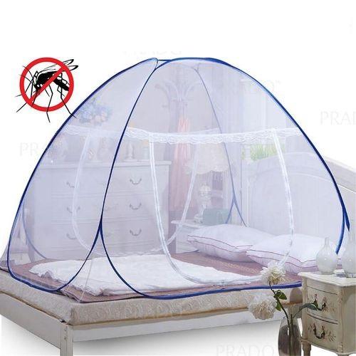 Portable de voyage Moustiquaire Entièrement fermé Autonome pliable Moustiquaire Tente Camping Mosquito Rideau 2 place (180X200X150 CM)