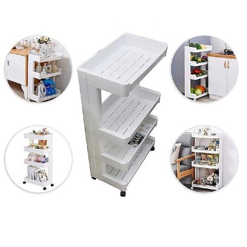 Support de stockage pour cuisine, pour chambre à coucher, pour salle de bain, pour maquillage étagère mobile