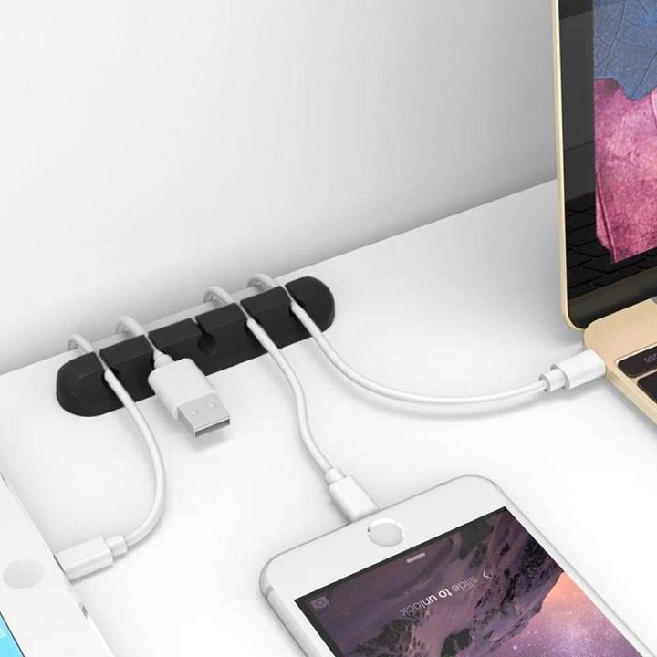 Organisateur Chargeur USB PC Rangement