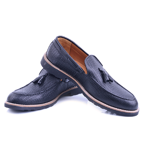 Nelson Chaussure Noir En Cuir NEL222