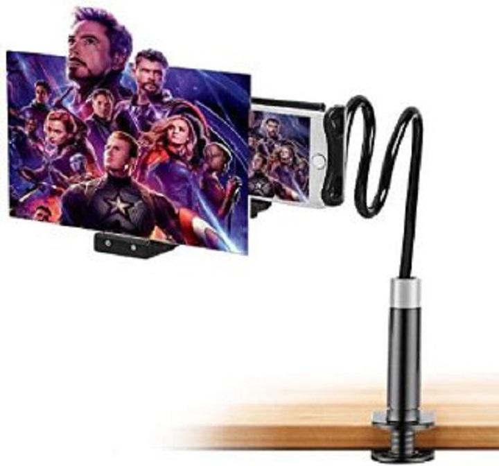 Support pour Smartphone Téléphone et Tablette Rotation à 360 Fixation Universelle avec ZOOM