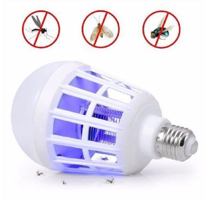 Lampe LED anti-moustiques 2 en 1 Tueur Électrique des Insectes volants