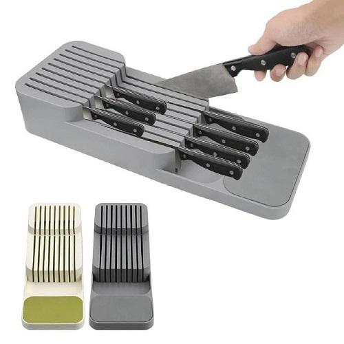 Couteau de cuisine boite de rangement tiroir