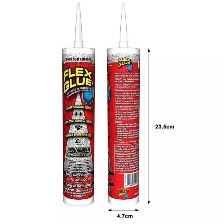Flex Glue Adhésif imperméable transparent super fort