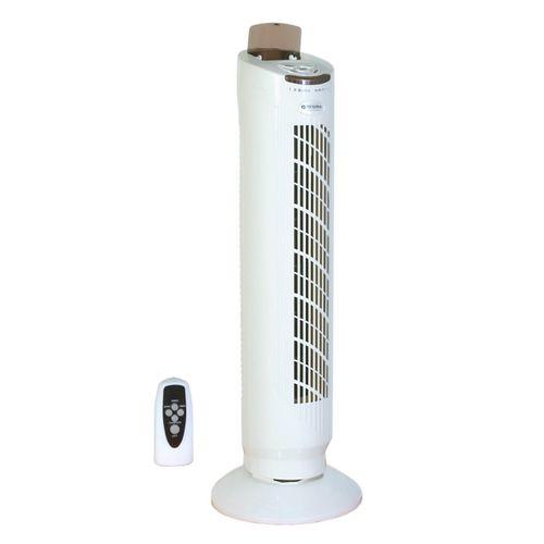 General Ventilateur vertical de tour White 50w avec télécommande