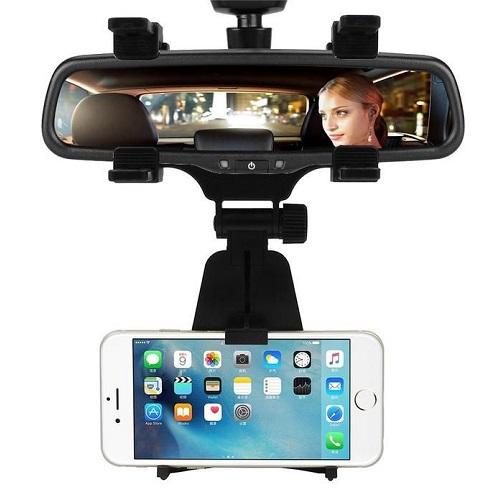 Car phone clip pad Support Téléphone de Voiture sur Rétroviseur tout les téléphone rigide et stable