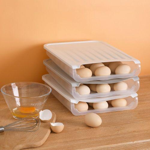 Boite de rangement des œufs - Défilement automatique des œufs