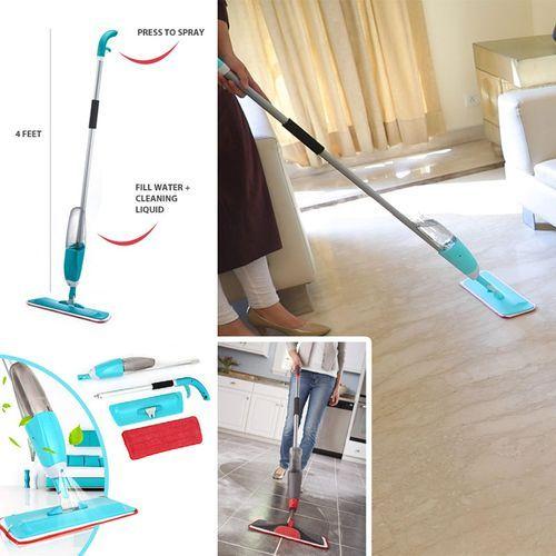 Magnifique Spray Mop Healthy Balai à Vapeur manuel serpillière Spray Mop