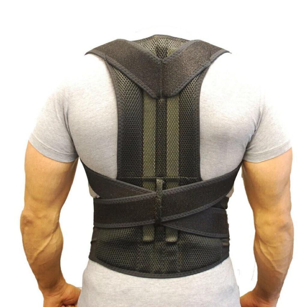 Back pain Posture efficace pour ceux qui souffrent de courbure du dos