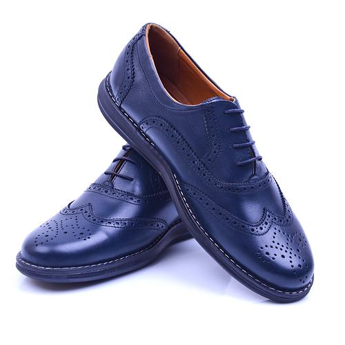 Chaussure Bleu 100% Cuir