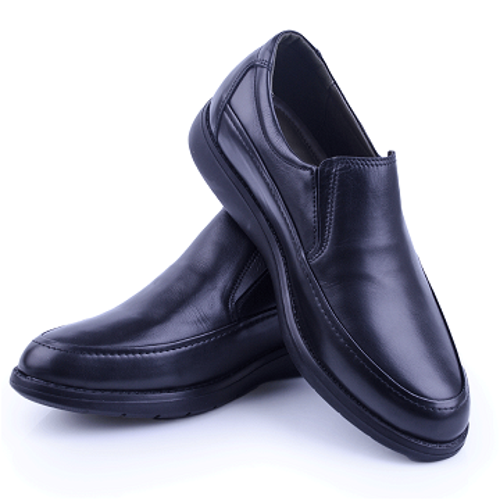 Nelson Chaussure Médicale Noire En Cuir Tendance 2020