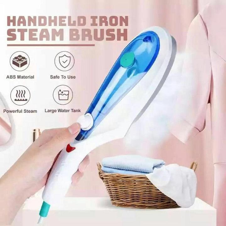 Fer à repasser à vapeur pour vêtements repassage vapeur vêtement sous-vêtements vapeur fer brosses 3 têtes