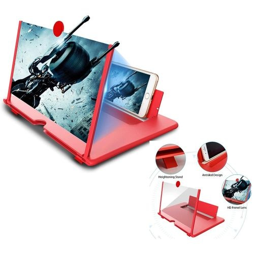 """Loupe d'écran de téléphone 3D HD de 12 """""""