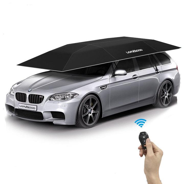 Parasol Pliable automatique pour voiture Auto folding Car Umbrella Wireless Remote Control