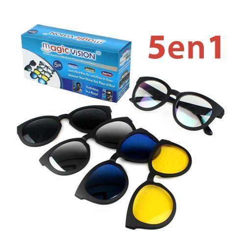 Magic Vision 5 in 1 Magnetic Sunglasses
