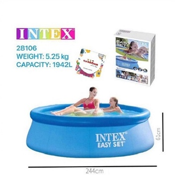 Piscine gonflable easy set 2,44 X 0,61 M