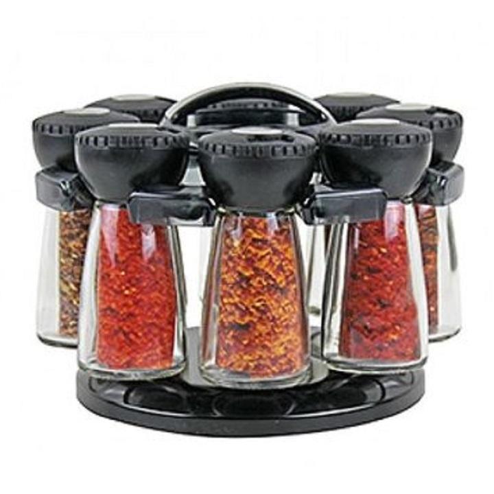Service à 8 pots à épices TATCH
