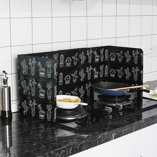 Cache table de cuisson adaptable