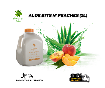 FOREVER ALOE BITS N'PEACHES - قلب الألوي