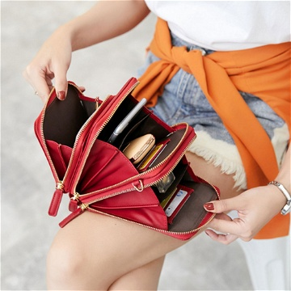 الحقيبة الفاخرة متعددة الوظائف .