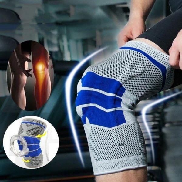 دعامة الركبة و الرضفة المبطنة بالسيليكون