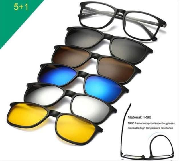نظارة ماجيك فيجن 6 في 1
