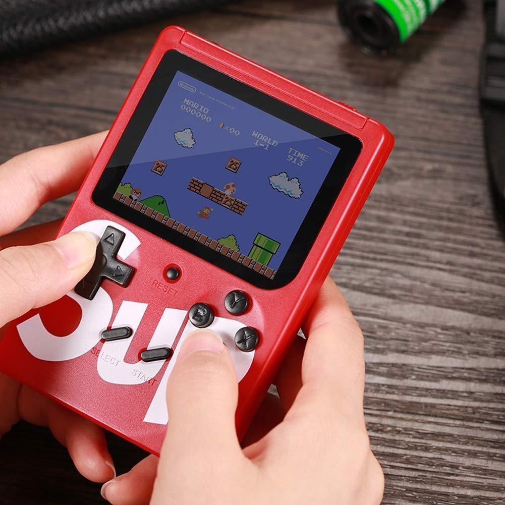 جهاز ألعاب إلكترونية يحتوي على 400 لعبة مختلفة