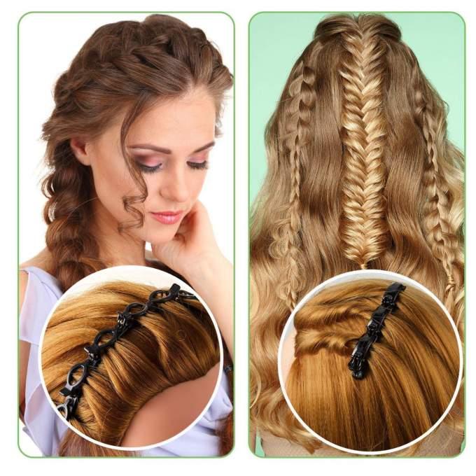طوق الشعر ذات لمسة جذابة ( Pièce 3 )