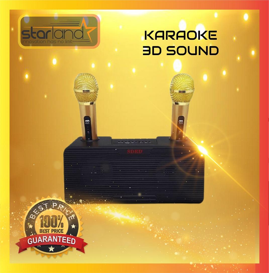 Speaker SD-302 Sans Fil Bluetooth Haut-Parleur Microphone
