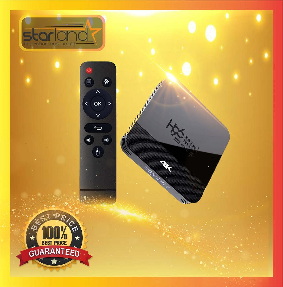 H96 Mini Android 9 Smart TV Box 2+16GB 4K HDMI 2.4G/5G WIFI