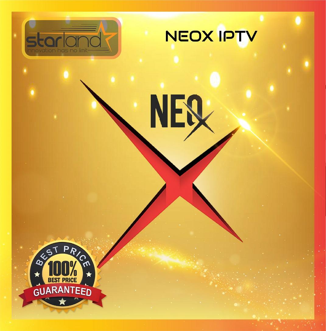 NEOX ABONNEMENT  SMART TV ANDROID 12 MOIS