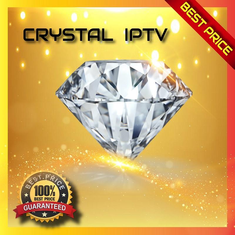 CRYSTAL OTT TV - SERVEUR IPTV & VOD