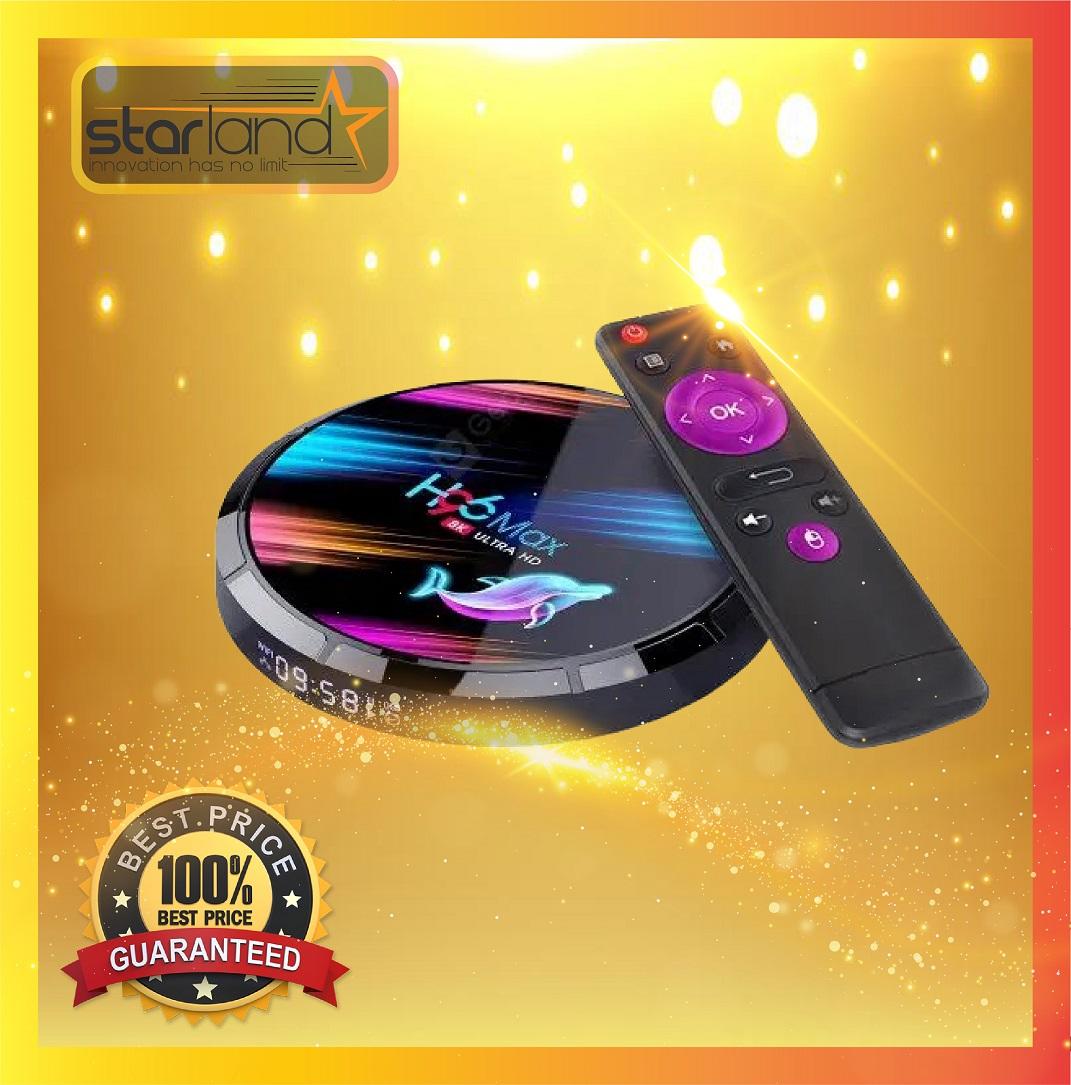 H96 Max X3 S905x3 4Gb+128Go