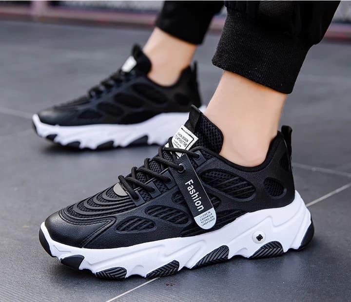 Black Sneakers Confort