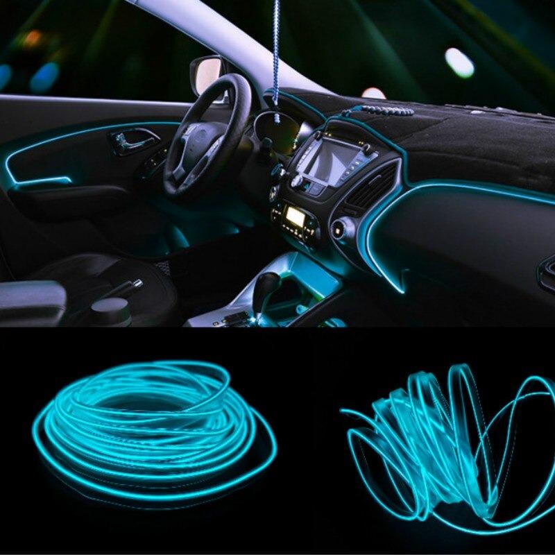 شرائط إضاءة السيارة USB 2M