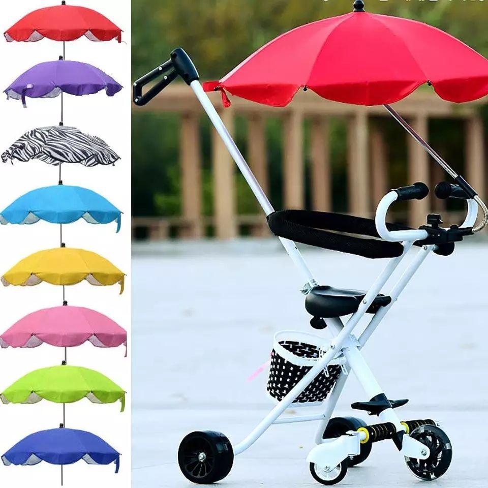 bébé poussette parapluie soleil